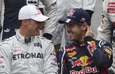 """Schumacher: """"Me alegro de no ser compañero de Vettel"""""""