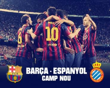 Viernes, ¡Día de derbi catalán Barcelona vrs Espanyol!