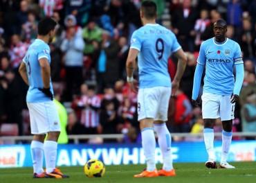 Duras derrotas de City y Tottenham