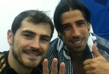"Real Madrid apoyan a Khedira:""¡Ánimo, Brasil te espera, amigo!"""