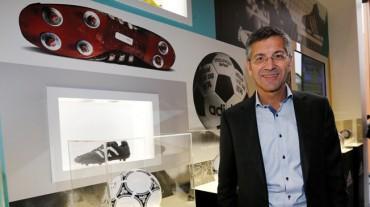 """Hainer: """"La FIFA y adidas, una simbiosis perfecta"""""""
