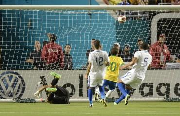 Honduras cae estrepitósamente ante Brasil