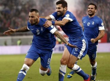 Grecia ha logrado el billete para el Mundial de Brasil
