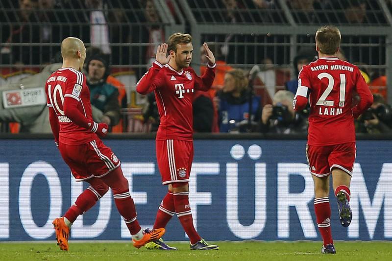 El Bayern gana a lo grande al Borussia Dortmund