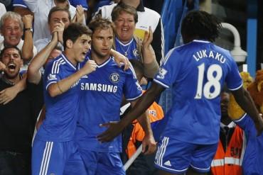 Un inexistente penalti se salva el Chelsea