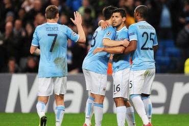 El Manchester City doblega a un combativo Viktoria Plzen
