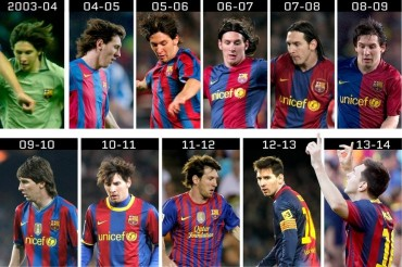 10 año de la década prodigiosa de Leo Messi