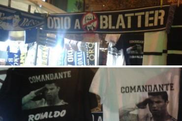 El Bernabéu, un clamor contra Blatter
