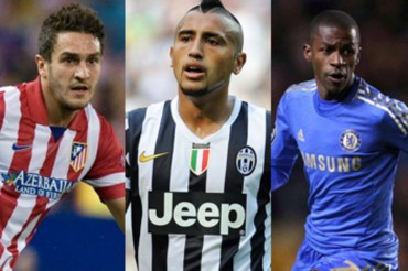Koke, Vidal y Ramires: Tres medios que le gustan al Tata Martino
