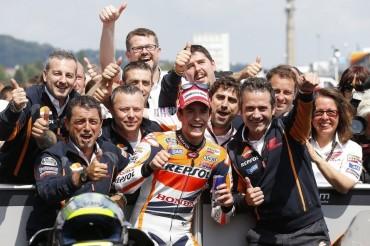 Márquez ya es el campeón más joven de la historia de MotoGP
