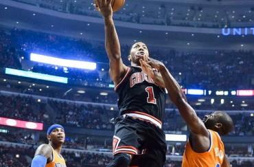 Derrick Rose da la victoria a los Chicago Bulls