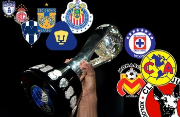 Cinco equipos luchan por tres lugares en la Liguilla de México