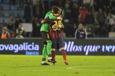 """Messi: """"Va a ser muy difícil encontrar un sustituto para Valdés"""""""