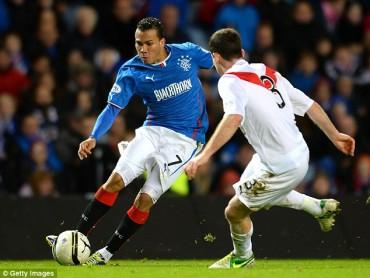 Peralta sigue siendo titular con el Ranger de Escocia