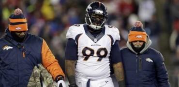Broncos pierde a tacle defensivo