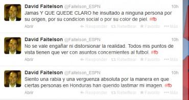 David Faitelson ofreció disculpas al pueblo Hondureño