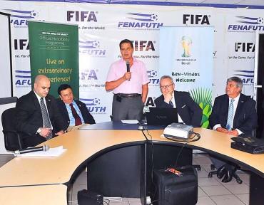 Unos 400 mil dólares recibirán Fenafuth por jugar ante Brasil