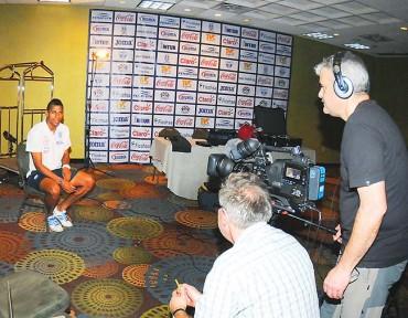 FIFA elabora producción televisiva con jugadores de la bicolor