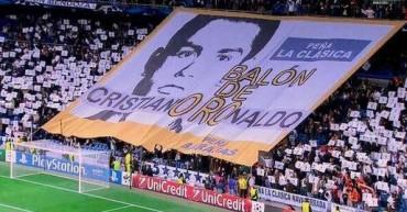 El Bernabéu homenajeó a Cristiano Ronaldo
