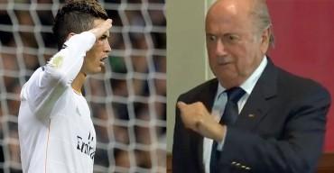"""Blatter insiste: """"Cristiano es un extraordinario comandante"""""""