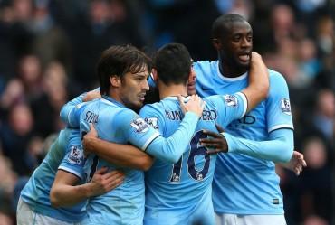 Manchester City revolcó  al Arsenal en la Premier