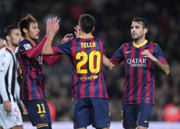 Neymar pone la magia en el Camp Nou y el  Barça gana 3-0