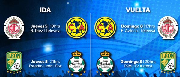 Arrancan las semifinales en México