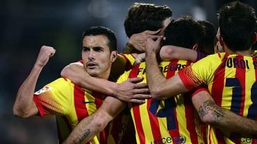 Barcelona termina el año como lider de la Liga Española