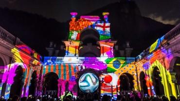 La fiesta del balón en Río de Janeiro