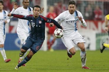 Victoria del Manchester City en el Allianz Arena al Bayer Munich