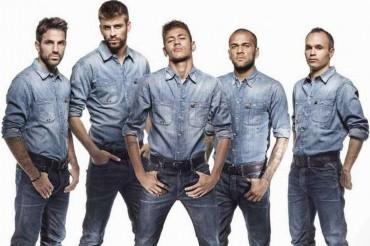 Piqué, Alves y Valdés, los cracks del Barça más estilosos del año 2013