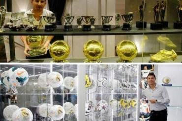 El oro de Messi vs. el cuero de CR7