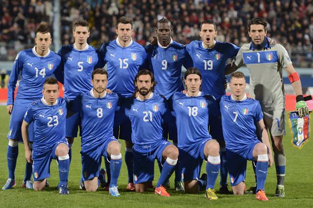 La selección italiana pedirá que haya dos tiempos muertos durante el Mundial