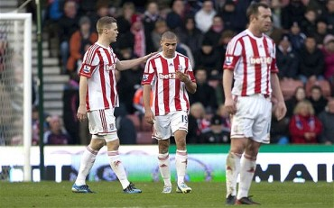 Stoke City del hondureño Wilson Palacios fue goleado