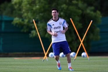El bíceps femoral de Messi está recuperado