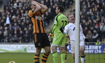 Hull City no pudo aguantar su ventaja ante Manchester United