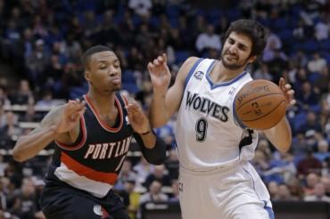 Los Wolves se imponen a Portland