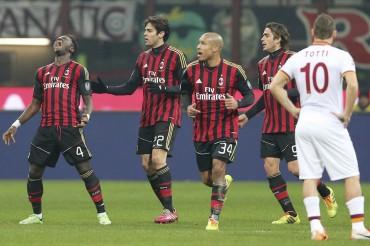 Muntari rescata un punto para el Milan y aleja al Roma del liderato