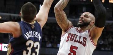 Pelicans sorprenden a los Bulls