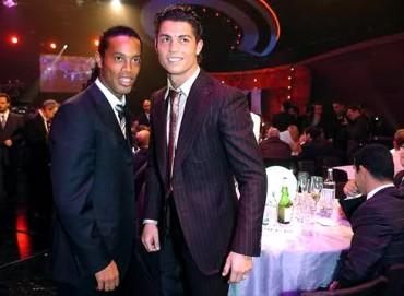 """Ronaldinho: """"La rabia de Cristiano es vivir la misma época que Messi"""""""