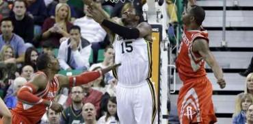 El Jazz para a los Rockets