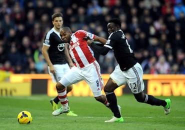 Stoke City de Wilson Palacios fue aplastado por el Newcastle