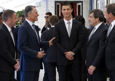 Cristiano será condecorado por el presidente de Portugal