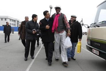 Rodman viaja a Corea del Norte al cumpleaños de Kim Jong Un