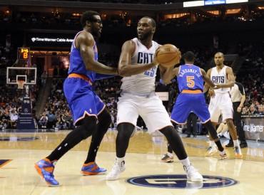 Al Jefferson cortó la racha de victorias de New York Knicks