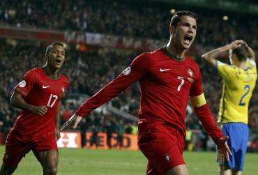 Cristiano Ronaldo es el mejor goleador internacional de 2013