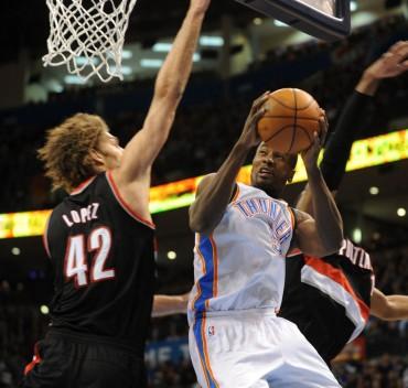 Kevin Durant lo vuelve a hacer: ¡le mete 46 puntos a Portland!