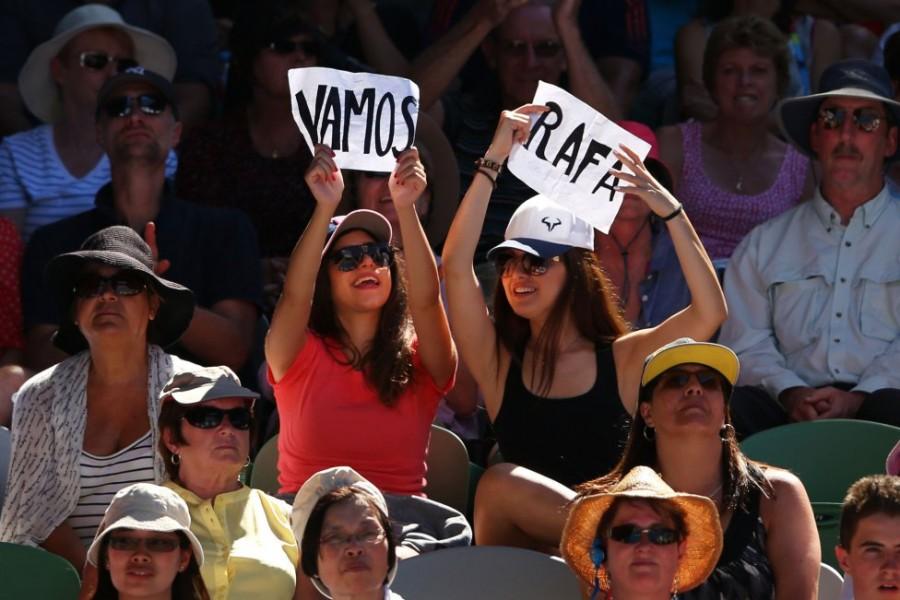 Australia, impaciente ante las 'semis' entre Nadal y Federer