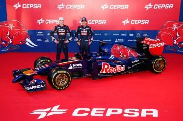 Toro Rosso descubre el nuevo STR9 con un morro tipo aguijón