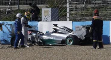"""Hamilton sobre su accidente: """"Un incidente desafortunado"""""""